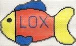 ab184 A. Bradley lox fishie 5 x 3 13 Mesh