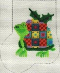 ab186 A. Bradley patchy turtle Mini-Sock 3 x 4 18  Mesh