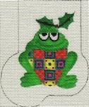 ab187 A. Bradley patchy frog Mini-Sock 3 x 418  Mesh