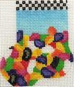 ab188 A. Bradley jelly bean munchkin sock 2 x 318 Mesh
