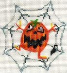 ab194b A. Bradley spider-web pumpkinhead2.25 x 2.25 / 5 x 5 18 Mesh