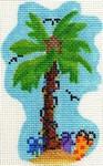 ab198 A. Bradley christmas palm 3 x 4  18  Mesh