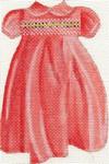 ab199a A. Bradley baby girl smocked dress 4 x 5  18  Mesh