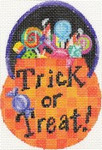 ab236 A. Bradley pumpkin candy bowl 3 x 4.5 18 Mesh