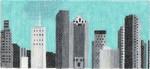 ab315b A. Bradley b/w houston cityscape 6 x 2.75 18 Mesh