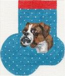 ab368 A. Bradley boxer mini-sock 3 x 4   18 Mesh