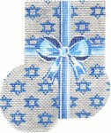 ab396 A. Bradley Chanukah package Mini-Sock  3 x 4 18 Mesh