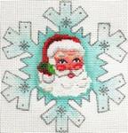 ab415 A. Bradley christmas tree snowflake 4 ½ x 4 ½  18 Mesh
