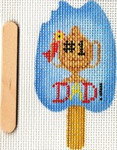ab335f A. Bradley June popsicle 2 x 3 18 Mesh With stitch guide by Cynthia Thomas…