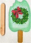 ab335L A. Bradley December popsicle 2 x 3 18 Mesh With stitch guide by Cynthia Thomas…