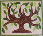 HO517 Raymond Crawford Designs 11 x 13, 14 Mesh TREE OF LIFE TALLIS BAG