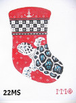 "22MS MM Designs 18 Mesh MINI STOCKING 4"" x 6"""