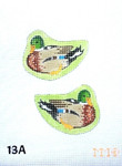 "13A MM Designs Mallard Duck/ male 2 1/2"" x 3 1/2""   EASTER"