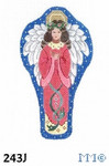 "243J MM Designs Snow Queen Angel Praying/ Standing Size: 6 1/2"" x 9"""