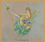 Cross Stitching Art Arachne The Knitting Fairy Size: 171w x 165h