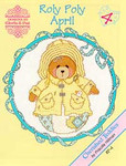 02-1166 Roly Polys-April (Cherished Teddies) by Designs By Gloria & Pat