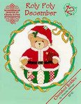 02-1174 Roly Polys-December (Cherished Teddies) by Designs By Gloria & Pat
