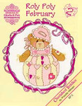 02-1164 Roly Polys-February (Cherished Teddies) by Designs By Gloria & Pat