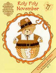 02-1173 Roly Polys-November (Cherished Teddies) by Designs By Gloria & Pat