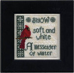 14-2404 Winter Messenger Size: 74w x 74h Erica Michaels