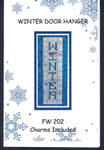 Winter Doorhanger (w/chms) by Faithwurks 14-2658
