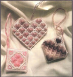 It's All About The Hearts Size: 82w x 41h Freda's Fancy Stitching Pattern Only