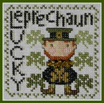 15-1063 Wordplay-Lucky Leprechaun (w/chm) by Hinzeit 47w x 47h