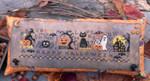 14-2482 Happy Halloween, A by Lila's Studio Size: 227w x 63h
