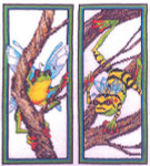 09-1525 Froggy Fairies by Xs And Ohs 58w X 138h