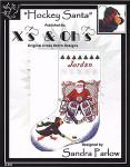 07-2528 Hockey Santa Stocking Xs And Ohs