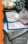 Crabapple Hill Studio Spirited Tea Towels seven different patterns