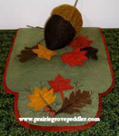 Prairie Grove Peddler, The Table Toppers-Autumn Leaves (Wool) 15x36