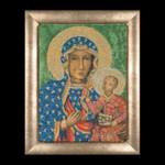 "GOK469A Thea Gouverneur Kit Madonna of Czestochowa 8.8"" x 12""; Aida; 16ct"