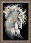 "RL1451 Riolis Cross Stitch Kit Andalusian Character 11.75"" x 17.75""; Aida; 14ct"
