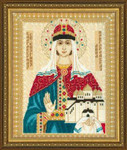 "RL1454 Riolis Cross Stitch Kit St. Anna of Novgorod 11.5"" x 13.75""; Aida; 14ct"