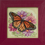 MH145105 Mill Hill Buttons and Bead Kit Winged Monarch (2015)