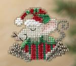 MH181306 Mill Hill Santa Ornament Kit Kris Mouse (2011)