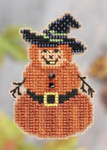 MH181205 Mill Hill Santa Ornament Kit Pumpkin Man (2011)