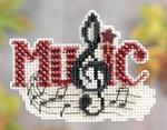 MH181204 Mill Hill Santa Ornament Kit Music (2011)