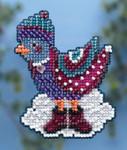 MH184303 Mill Hill Seasonal Ornament Kit Winter Bird (2014)