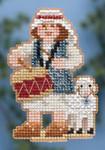 MH184305 Mill Hill Seasonal Ornament Kit Drummer Boy (2014)