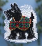 MH184306 Mill Hill Seasonal Ornament Kit Scottie (2014);