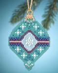 MH164301 Mill Hill Charmed Ornament Kit Jade (2014)