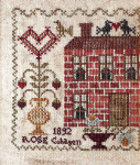 10-1348 Valentine Rose 75w x 85h Blackbird Designs