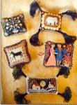 Carriage House Samplings Folk Art Pincusions