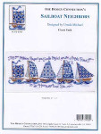 02-1834 Sailboat Neighbors by Ursula Michael Design