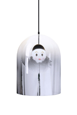 Young and Battaglia's  Pierrot Mirror Dome Pendant Lamp