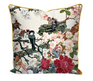 Save Empress wu' printed Satin Cushion