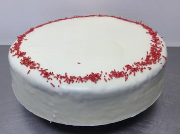 White Chocolate and Raspberry Mudcake