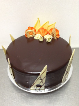Elegant Jaffa Chocolate Mud Cake